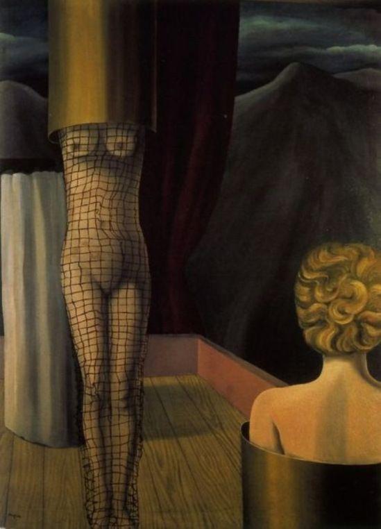 René Magritte 1926. Fonte: https://www.pinterest.com/pin/326299935478987386/